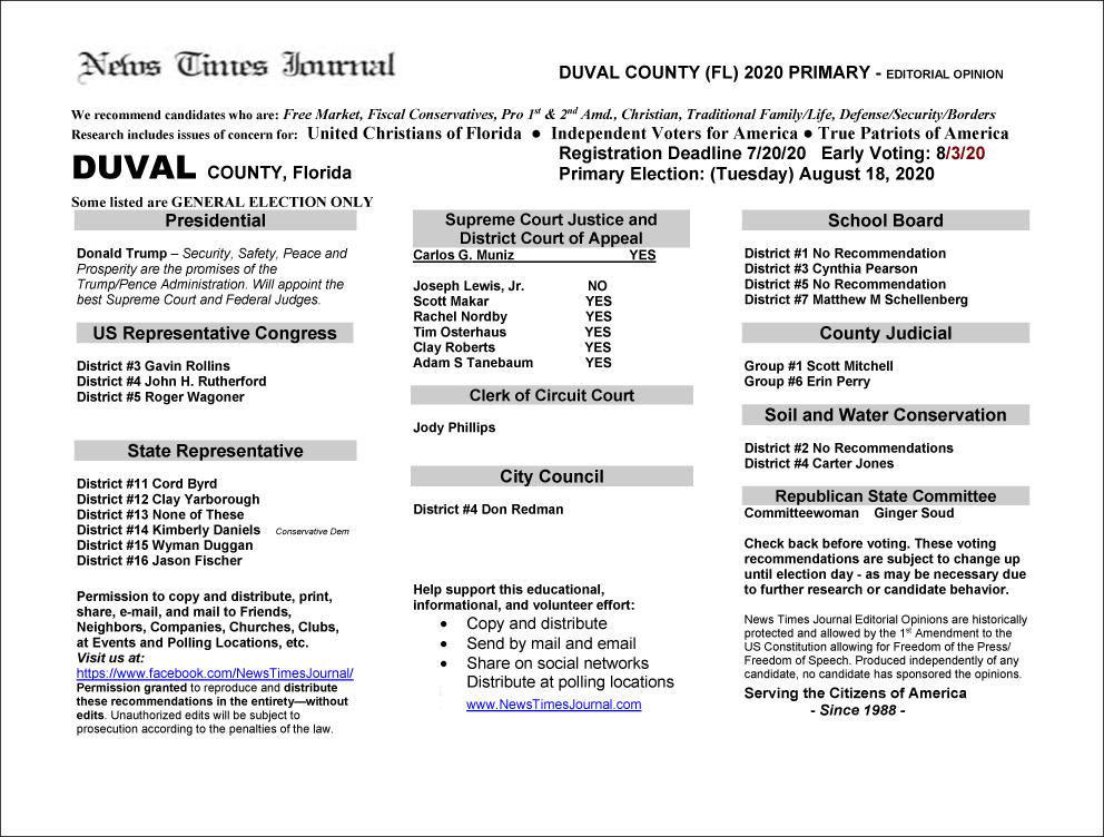 2020 FL Duval Primary