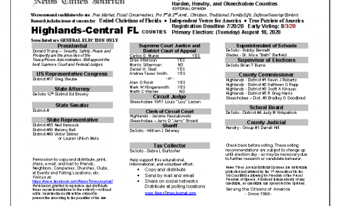 2020 FL Hendry Primary
