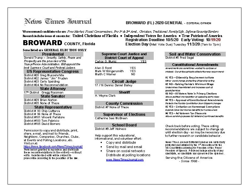 FL Broward 2020 General
