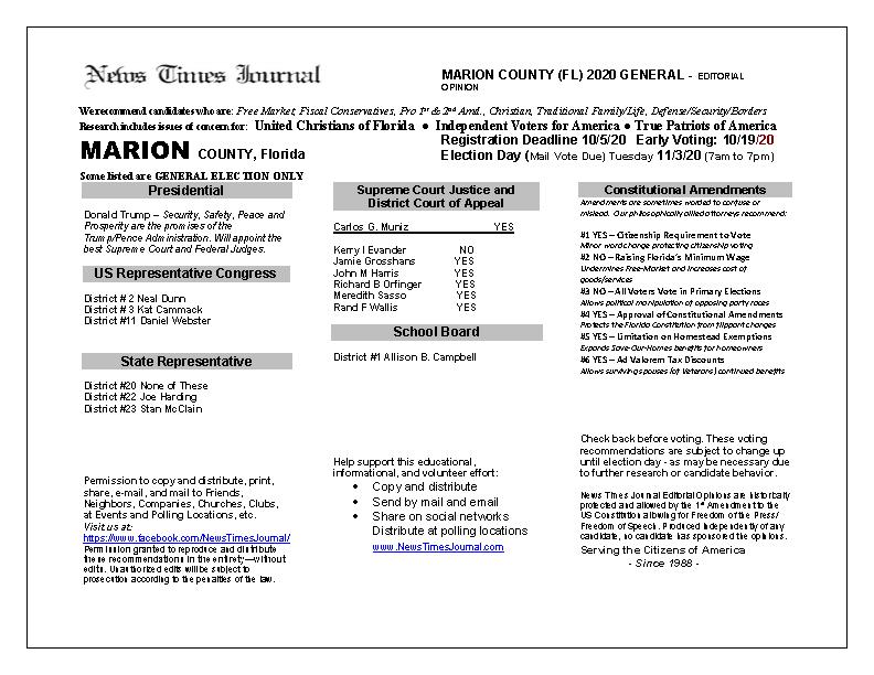 FL Marion 2020 General